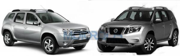 Nissan-Terrano-vs-Renault-Duster