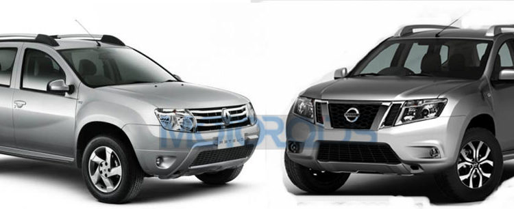 Nissan Terrano vs Renault Duster 750x306 Renault Duster vs Nissan Terrano   All the Visual Differences Explained