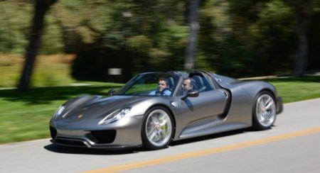 Porsche 918 Spyder Production Edition