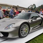 Porsche 918 Spyder pre-production model officially displayed