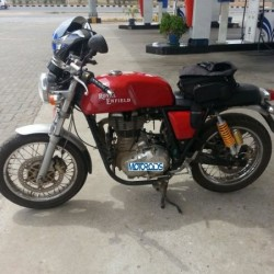 Royal Enfield Continental GT 535 Café Racer India Launch in October