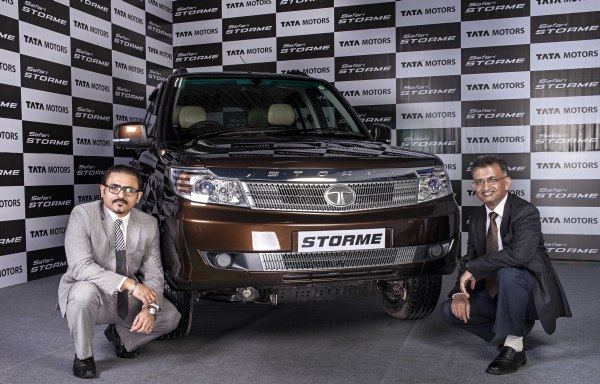 Tata Safari Storme launch- 2
