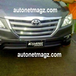 Facelifted Toyota Innova launch in Indonesia on August 19th