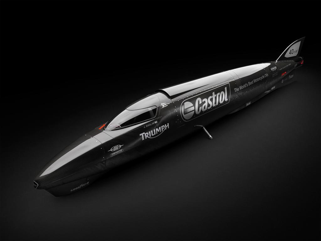 Triumph Streamliner Landspeed Record (1)