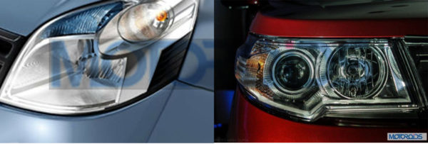 Of course, the projector headlamps have to be the talking point of the longer features list.