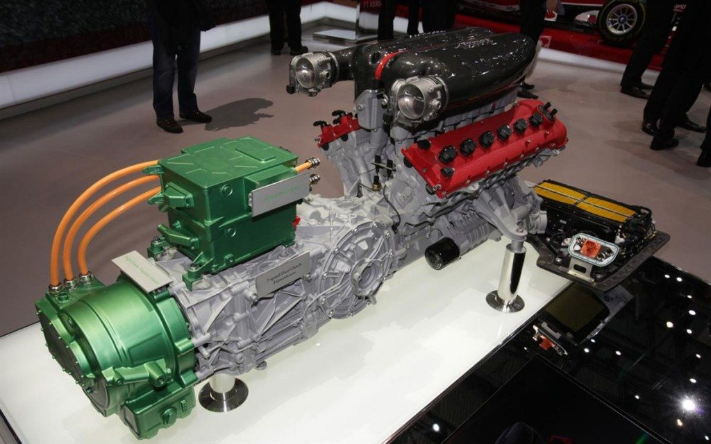 ferrari hybrid engine
