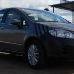 Fiat Linea facelift test mule spotted in India (again). Clearer Pics
