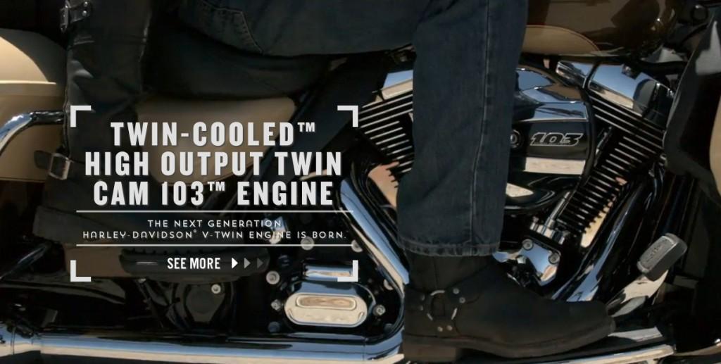 harley davidson water cooled engine