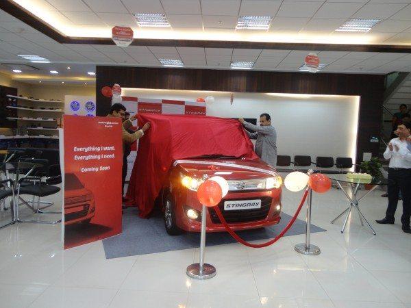 Maruti Stingray launched in Mumbai. Available at Shivam Maruti