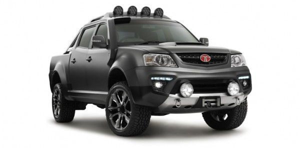 Tata Xenon Tuff Truck Concept for Australia revealed