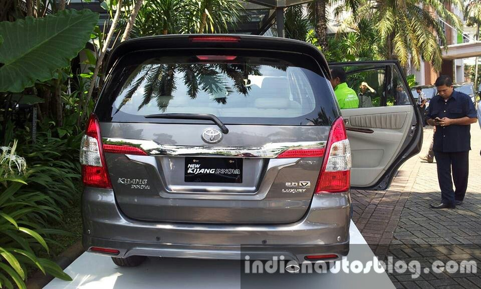 Toyota Innova facelift 2013 launched in Indonesia. India launch likely