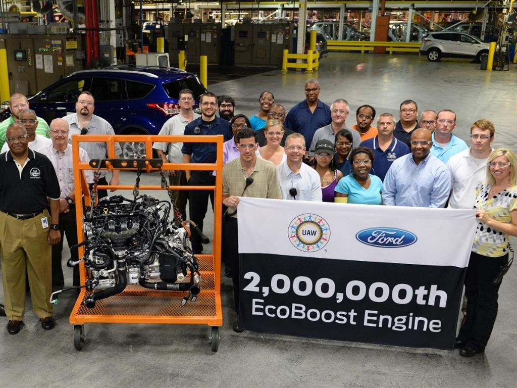 2 million ford ecoboost engine