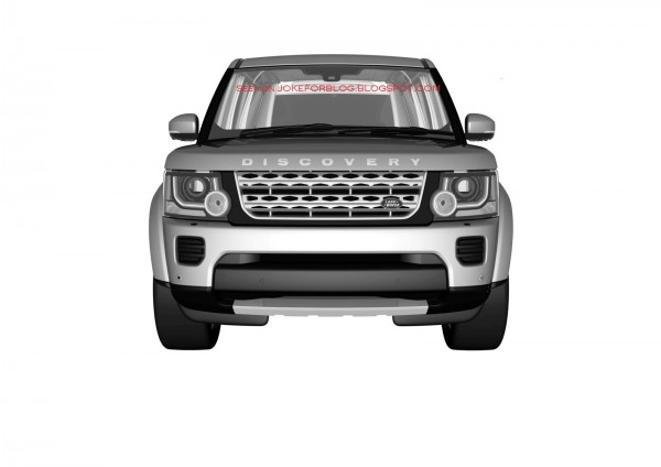 Upcoming 2014 Land Rover Discovery facelift revealed in these Patent Drawings