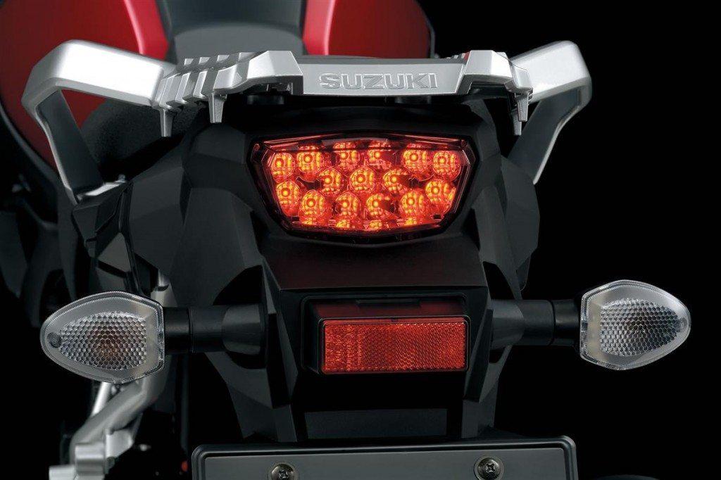 2014 Suzuki VStrom 1000 rear
