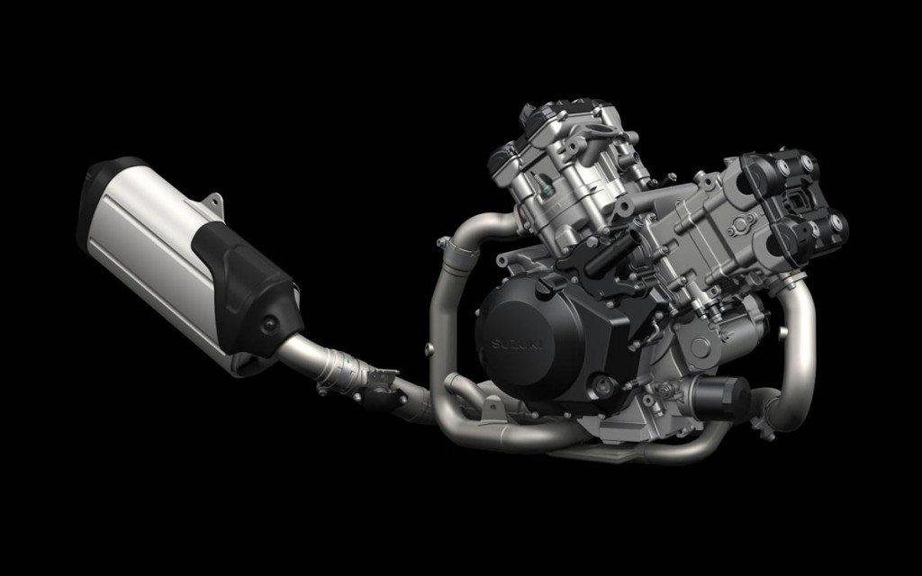 2014 Suzuki VStrom 1000 engine