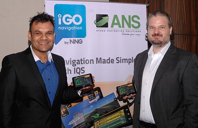 ANS Personal Navigation Device launched in India