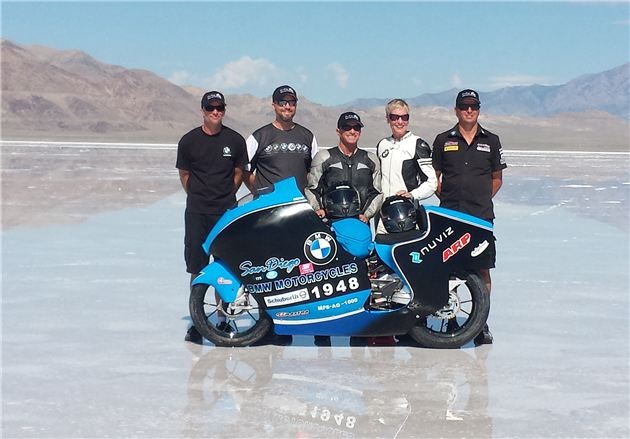 BMW S1000RR land speed record