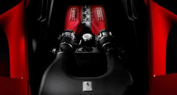 Ferrari-Turbocharge-Engine
