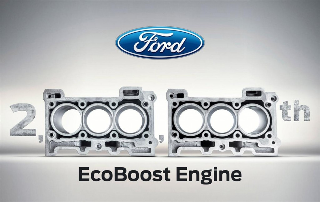 Ford Ecosport 2 millionth engine