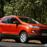 Ford EcoSport Titanium variant loses some equipment. Becomes Cheaper by INR 15000