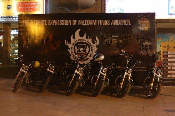 H.O.Gs at Harley Rock Riders-Delhi