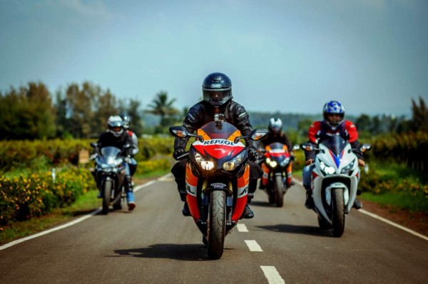 Honda Big Bike Ride- Mumbai to Nasik-Sula Vineyards-Ride_