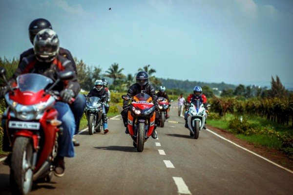 Honda Big Bike Ride- Mumbai to Nasik-Sula Vineyards-Ride_2