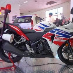 HMSI unveils the Honda CBR250R Police motorcycle