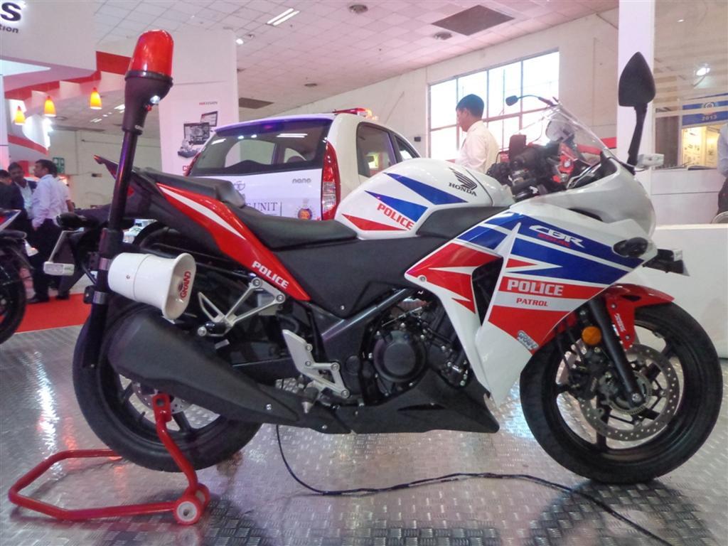 Honda CBR 250R Police motorcycle