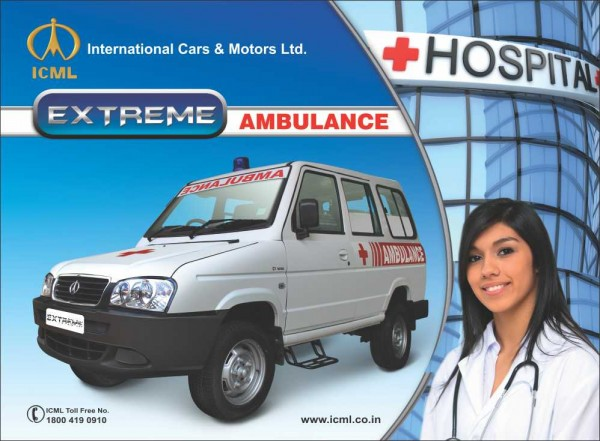 ICML Extreme Ambulance Van variant launched in India