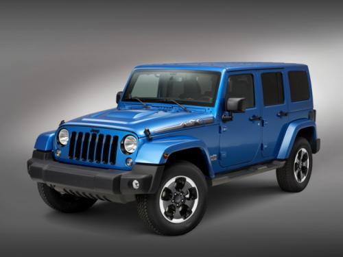 Jeep Wrangler Polar limited edition 1