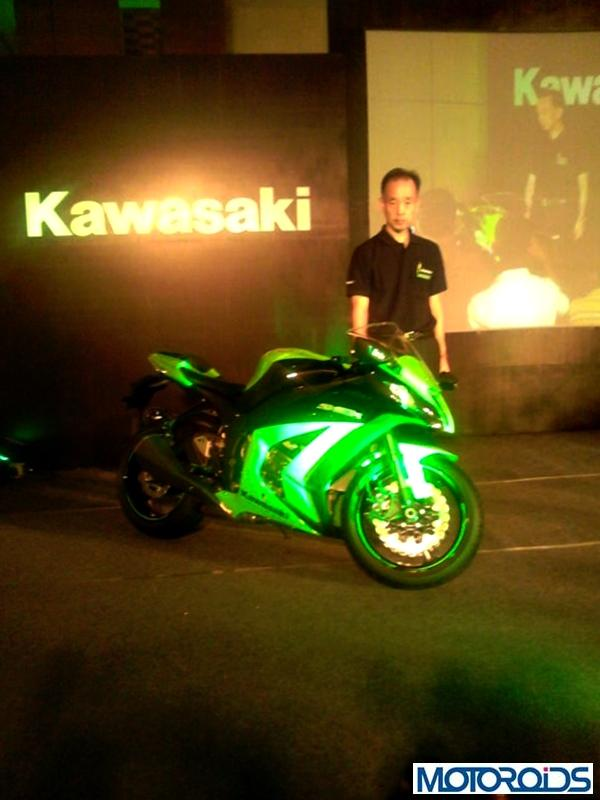 Kawasaki ZX10R India launch