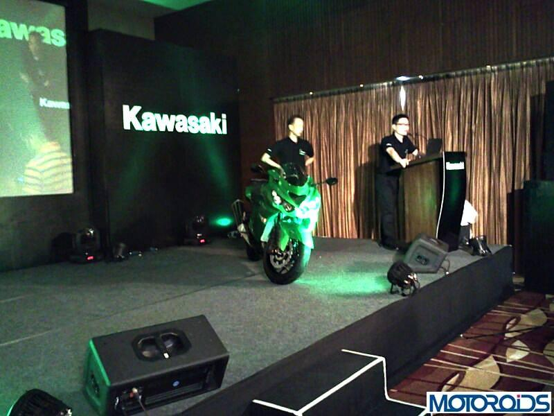 Kawasaki ZX14R India launch