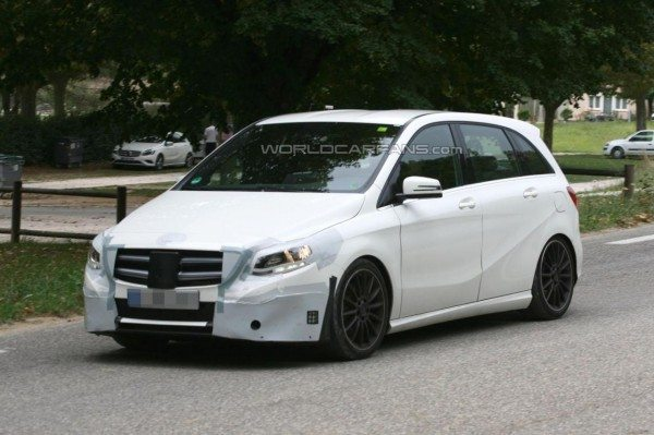 Surprise! There is a Mercedes B Class Facelift in Works