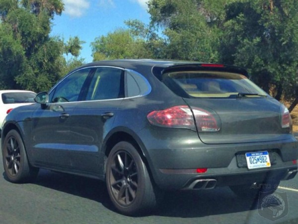 Spied Again: Porsche Macan with minimal camouflage
