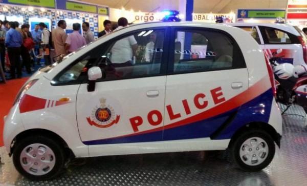 Tata-Nano-Delhi-Police