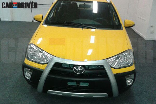 Meet the Toyota Etios Cross – Could be a VW Cross Polo and Skoda Fabia Scout Adversary in India