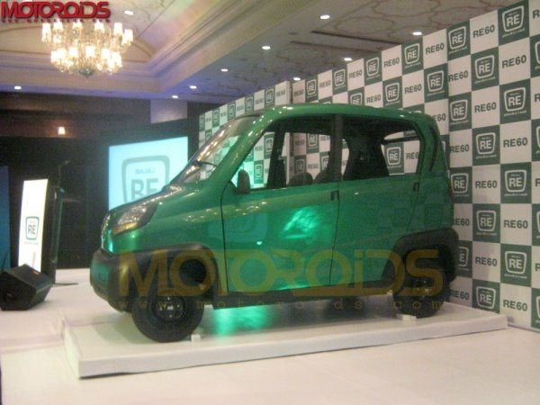 Bajaj Quadricycle Launch by October