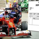 Ferrari joins taxi-ride fun. Sends Webber a bill for hitching a ride with Alonso