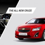 Refreshed 2013 Chevrolet Cruze launched in India @ INR 13.75 lakhs