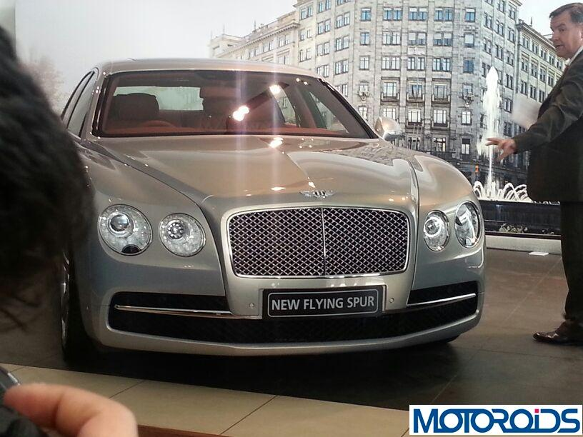 New 2014 Bentley Flying Spur launched in India at INR 3.10 Crores