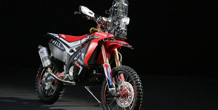 2014 Honda Dakar Rally Motorcycle 13 750x380 HRC unveils the 2014 Honda Dakar Rally Motorcycle