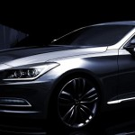 Upcoming 2014 Hyundai Genesis launch soon. Teased!