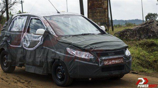 More spy pics of 2014 Tata Vista facelift pour in