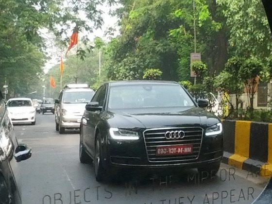 2014 audi a8 facelift india launch pics 1