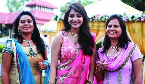 Anushka Sharma with Neha Soni and Aishwarya Yadav