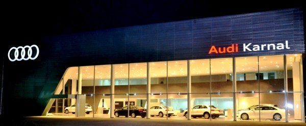 Audi Karnal Showroom Exterior Shot