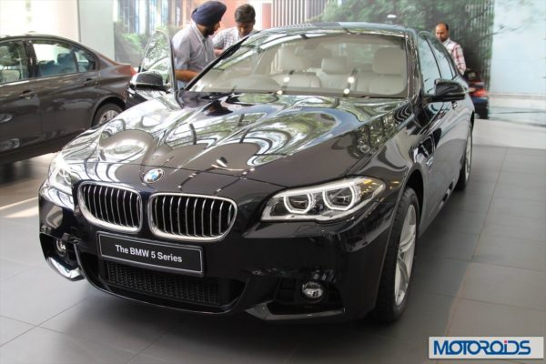 BMW 2014 5 series facelift India (1)