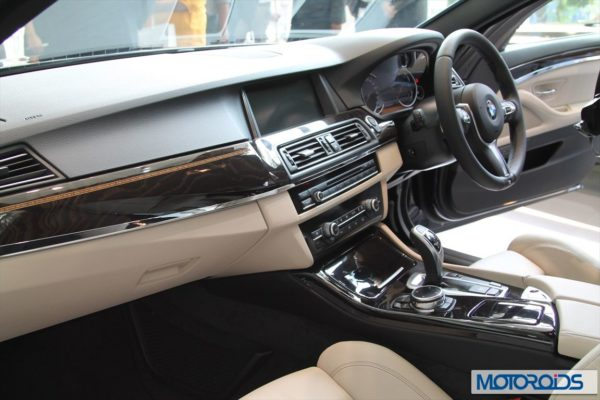 BMW 2014 5 series facelift India (2)