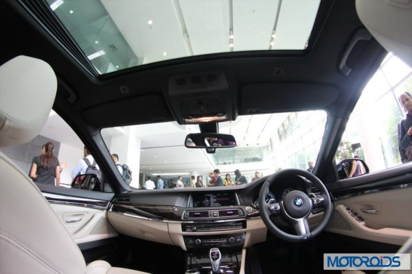 BMW 2014 5 series facelift India (24)